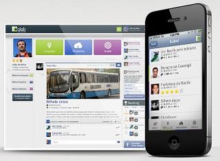 Rede social Colab, premiada no AppMyCity 2013. Foto: Reprodução/Colab