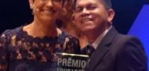 Valter venceu prêmio Educador Nota 10, em 2015