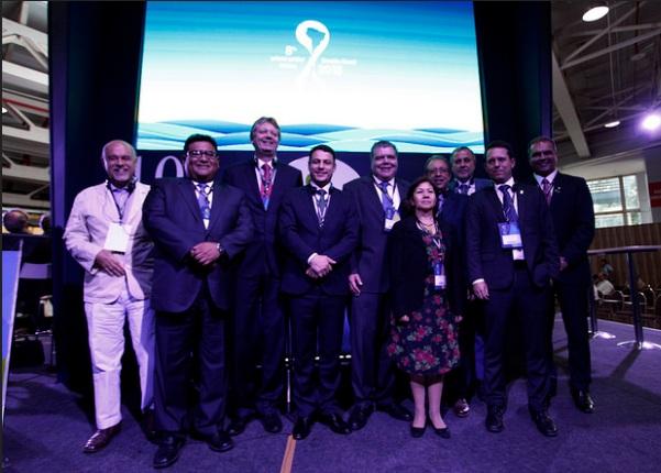 Sessão de assinatura da declaração trinacional pelo desenvolvimento sustentável do pantanal