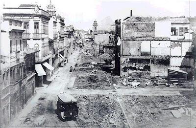 Demolição dos cortiços no Rio - Saneamento público...interesses privados