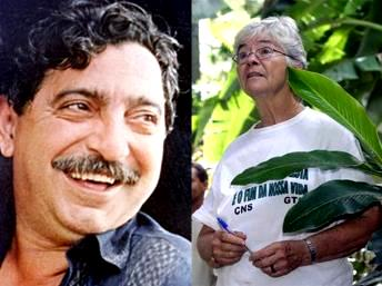 Chico Mendes e Dorothy Stang