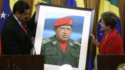 Dilma e o retrato do ícone bolivariano