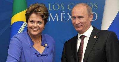 """Dilma e um de seus paradigmas """"duplipensantes""""..."""