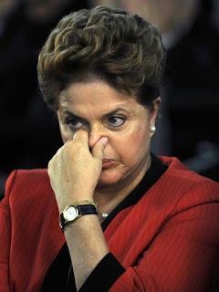Dilma: governo moribundo...