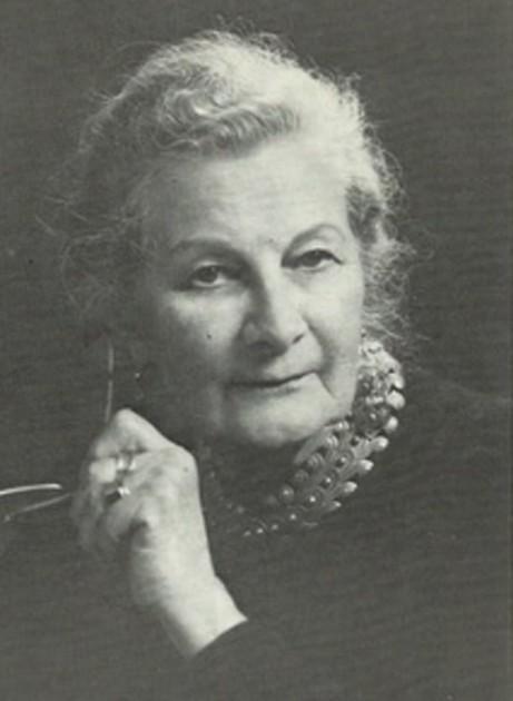 Retrato de Sylvia Moberly-Holland .