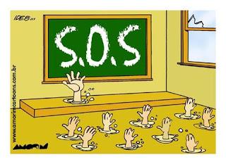 A educação brasileira pede socorro!