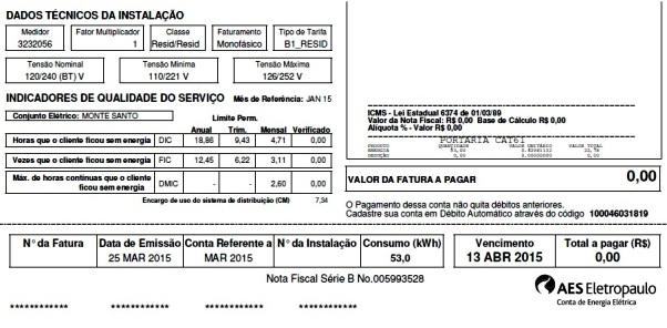 Graças ao projeto Recicle Mais, Pague Menos, diversos clientes da AES já conseguiram zerar suas contas de luz - e até ganhar bônus para as faturas seguintes