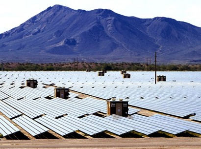 Usina solar no Arizona, USA