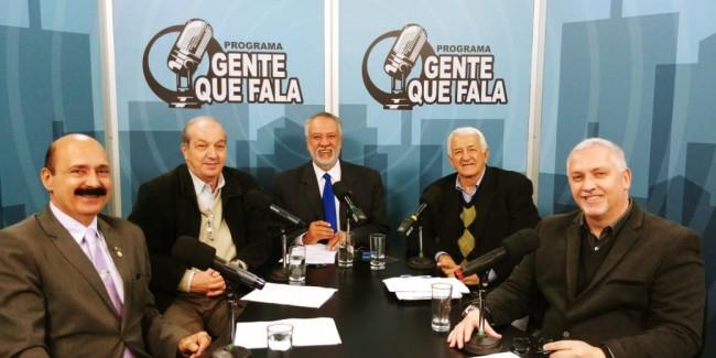 Subten Zanca, Cel PM Allegretti, Zancopé Simões, Cel PM Chiari e Fernando Pinheiro Pedro