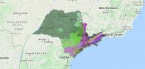 Unidades morfológicas do relevo do Estado de São Paulo apresentadas pelo Webmap – Foto: Reprodução