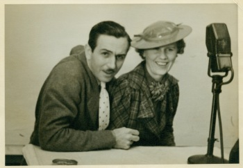Hazel Sewell e Walt Disney