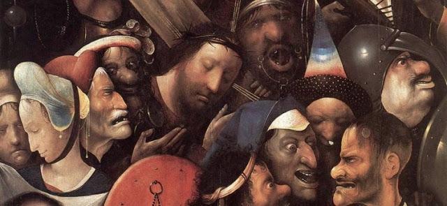 Hieronymus Bosh - Cristo Carregando a Cruz - 1515