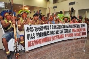 indígenas em audiência pública