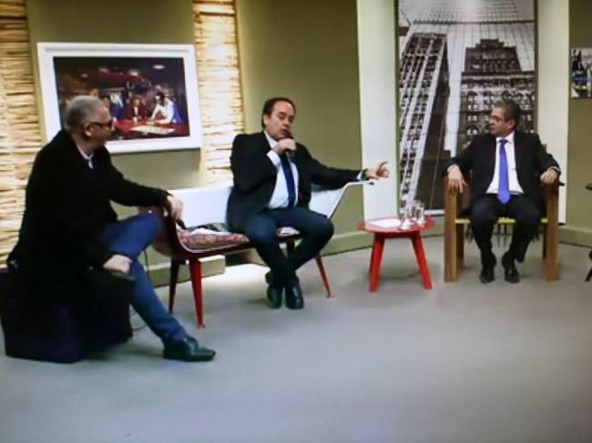 Pinheiro Pedro, Ivo Morganti e José Carlos Blat