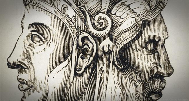Two-headed Janus