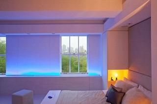 Iluminação à LED é tendência do momento na decoração. Imagem: Reprodução/Internet