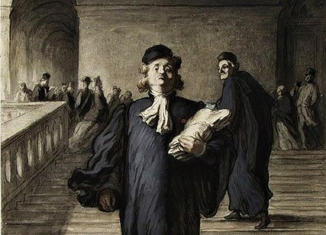Le Gens de Justice - Daumier