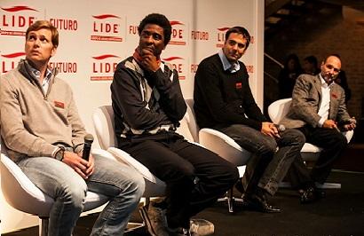 Mario Haberfeld, Edgard Gouveia Jr., Marcelo Miranda  e Roberto Klabin. Foto: Reprodução/Anna Quast e Fabio Laub Fotografia