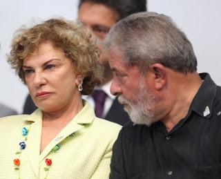 Lula e Marisa - de volta ao MP...