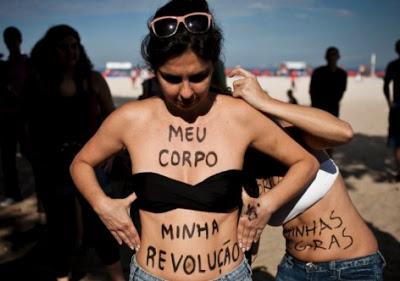 Marcha das Vadias - ejaculação de manifestações com resultado pífio...