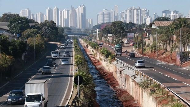Marginal Botafogo, Goiânia