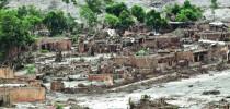 Município de Mariana após desastre da Samarco