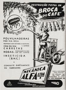 Cartaz de divulgação de medidas de combate à broca distribuído aos produtores (reprodução InstBio)