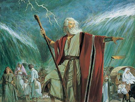 Moisés - arquétipo do salvador usado até por Cristo (no entanto, nunca foi populista)