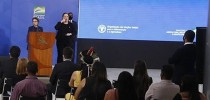 Ministra Tereza Cristina no evento de lançamento da campanha #Mulheres rurais, mulheres com direitos, no Palácio do Planalto