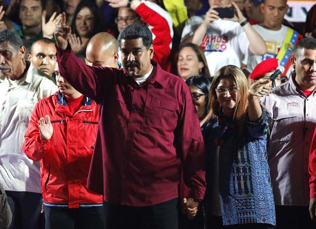 Maduro após as eleições - futuro sombrio na Venezuela - foto Carlos Garcia - Reuters