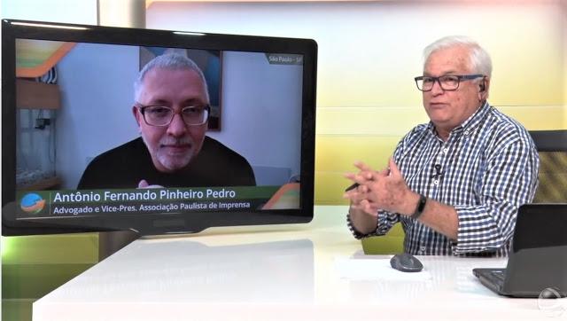 João Batista Olivi entrevista Antonio Fernando Pinheiro Pedro no Canal Notícias Agrícolas