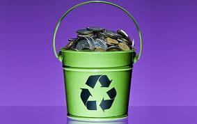 No Brasil o não aproveitamento do lixo gera um desperdício de R$ 10 bilhões ao ano. (Imagem da Internet)