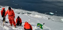 Cientistas brasileiros na Antártida