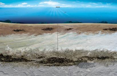 Ilustração do site da Petrobras sobre a exploração do pré-sal. (Divulgação/Petrobrás)