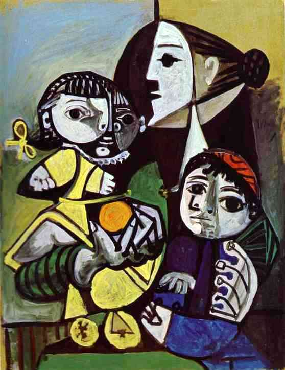 Claude and Paloma, Pablo Picasso