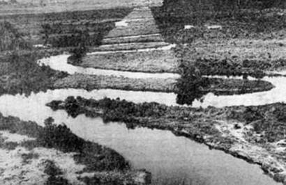 Rio Pinheiros em foto de 1930