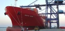 Cargueiro atraca no porto de Paranaguá, o segundo maior em movimentação de carga no Brasil (Imagem: Reprodução/Governo do Estado do Paraná)