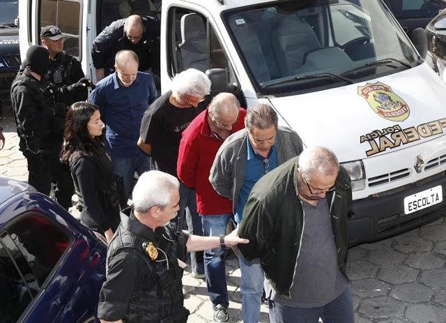 Condução de presos na Operação Lava-Jato