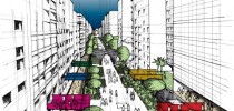 Projeto Minhocão por Lerner Arquitetos (Foto: Prefeitura de São Paulo/Divulgação)