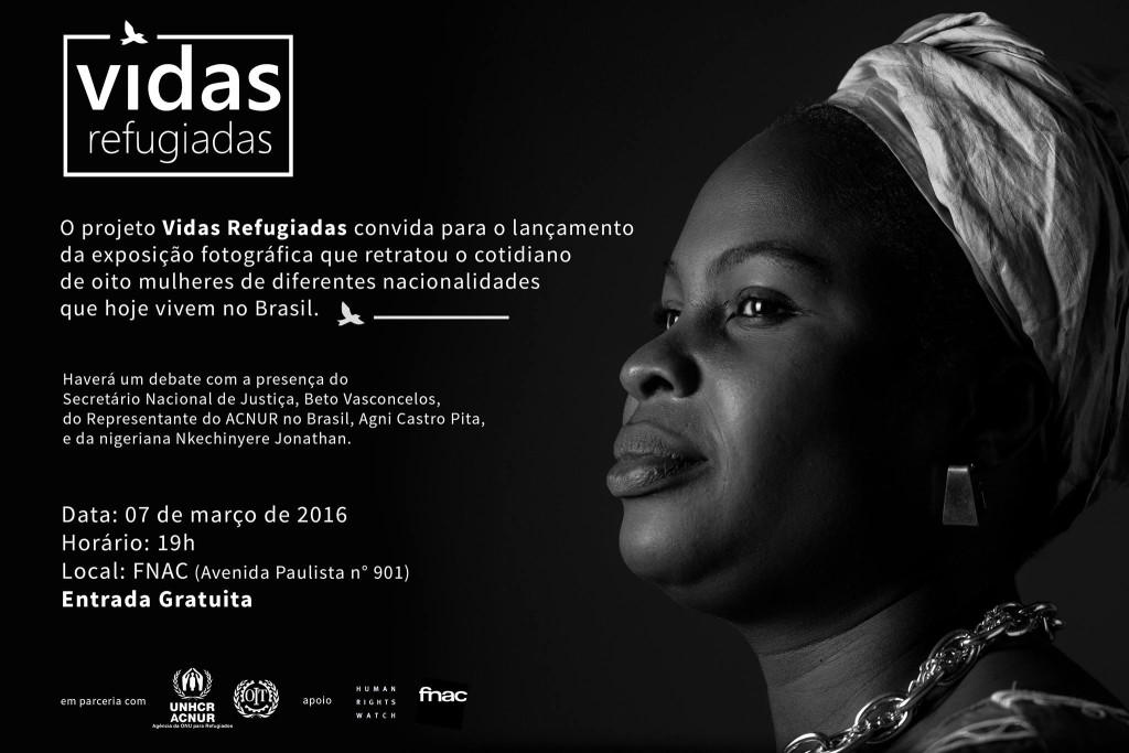 Imagem: ACNUR/Projeto Vidas Refugiadas/divulgação