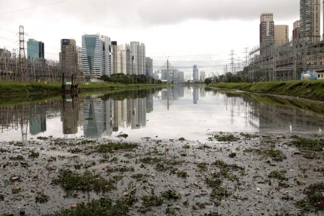 Rio Pinheiros (Foto: Rovena Rosa/Agência Brasil)