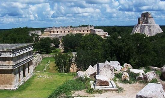 Península de Yucatan e o desmatamento maia