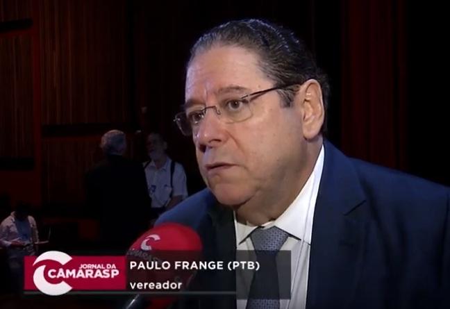Vereador Paulo Frange (PTB), médico cardiologista e proponente do evento.