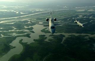 Aeronaves de rastreamento (foto) fabricadas no Brasil utilizadas pelo SIPAM/SIVAM. Imagem: Reprodução/Internet