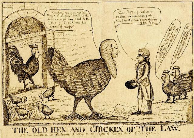 Gravura de 1786, guardada no Museu Britânico - incrível coincidência numérica...