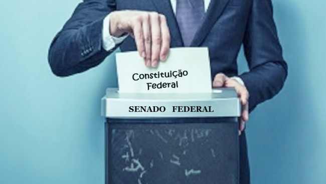 senado federal triturador da constituição
