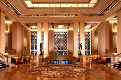 Waldorf Astória - local da homenagem a FHC