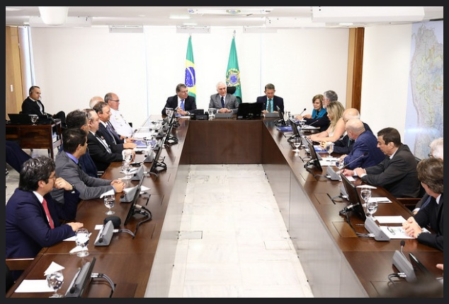 Em audiência com o presidente Temer, acertos finais para criação das UCs (Foto: Gilberto Soares)