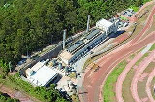 Usina de biogás no Aterro São João, zona leste de São Paulo (Imagem: Reprodução/Gasnet)