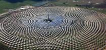 Usina solar na Espanha